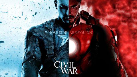 Marvel Civil War Movie - Superhero Civil War Iron Man Captain America