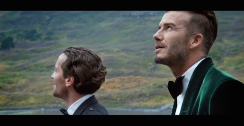 David Beckham and Guy Ritchie Just Made the Most Stylish Ad of the Year