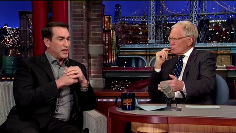 Watch Rob Riggle Discuss Deployment in Afghanistan Three Months After 9/11