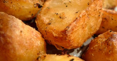 The Crustiest, Creamiest, Most Delicious Roasted Potatoes You'll Ever Make
