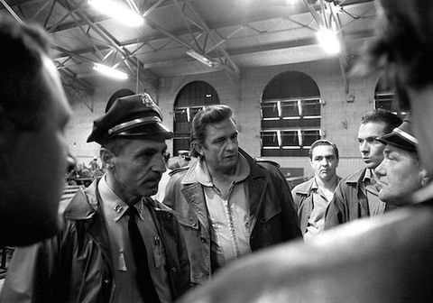Exclusive: New Photos of Johnny Cash at San Quentin Prison