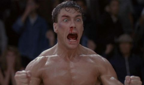 Jean Claude Van Damme Bloodsport Gifs Great Jcvd Faces And Bloodsport Scenes