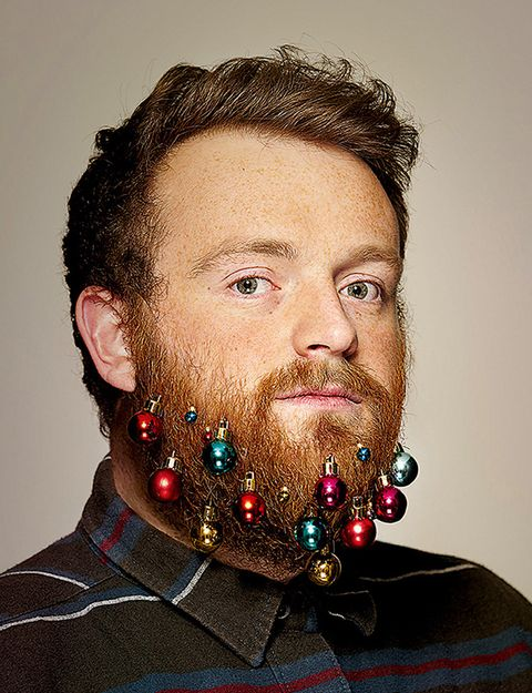 Christmas Beard.Beard Baubles Are Hipster Christmas Ornaments For Your Face