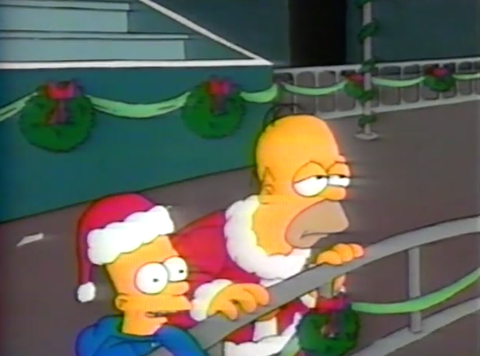 Christmas Simpsons.Simpsons Christmas Episode First Simpsons Episode Ever