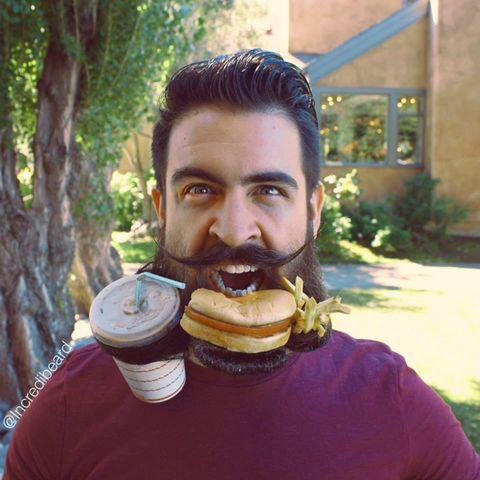 Surprising Incredibeard Sculptures Isaiah Webbs Impressive Charity Beard Schematic Wiring Diagrams Amerangerunnerswayorg