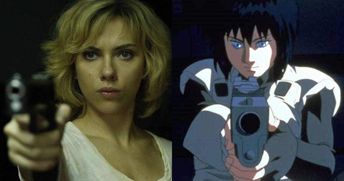 Scarlett Johansson Ghost In The Shell Casting Scarlett Johansson As Motoko Kusanagi