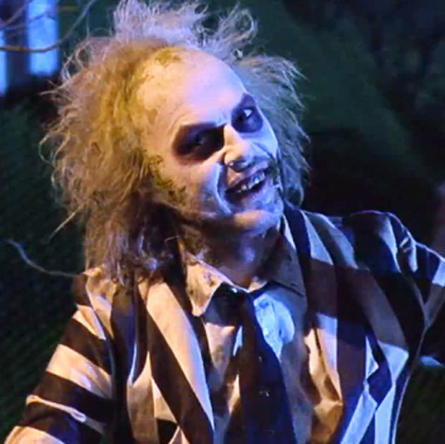 "Beetlejuice Tim Burton's comedy about the afterlife features a particularly manic performance from its star Michael Keaton. And while this movie about two ghosts (Alec Baldwin and Geena Davis) whose home is now ""haunted"" by a living family plays up the laughs over the frights, there are still plenty of super spooky moments—such as its exorcism-themed finale."