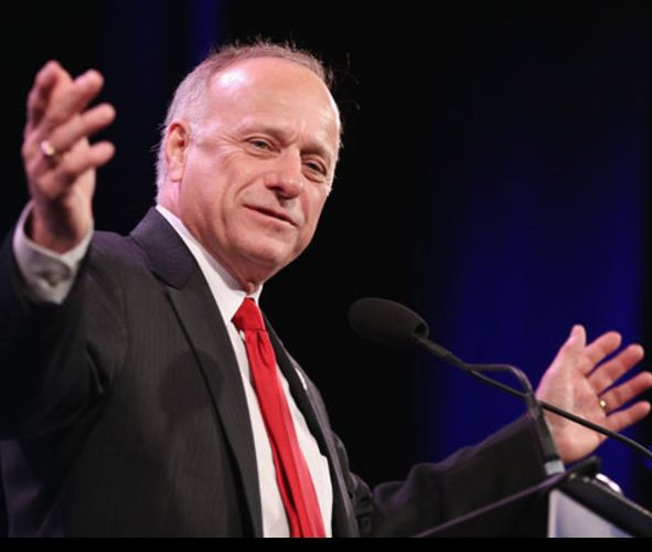 Steve King Posted a Meme Suggesting His Own State Will Be Crushed in a Second Civil War