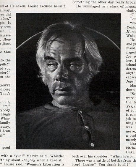 Roger Ebert Esquire Interview with Lee Marvin