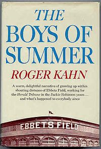 20. <i>The Boys of Summer </i>(1972) by Roger Kahn