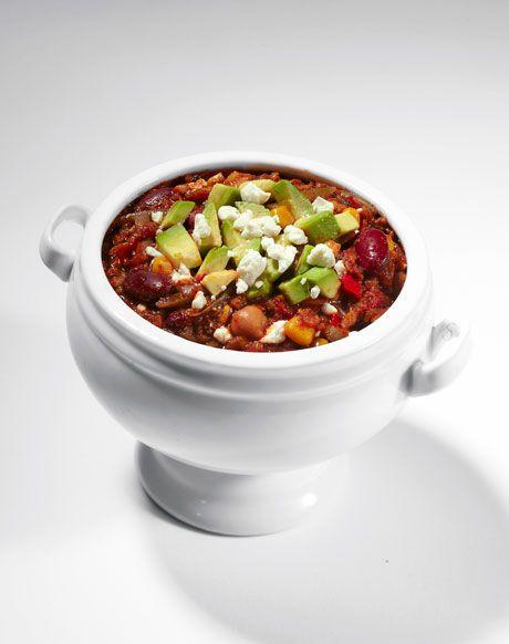 Vegetarian Chili Recipe The 2012 Winter Fitness Challenge