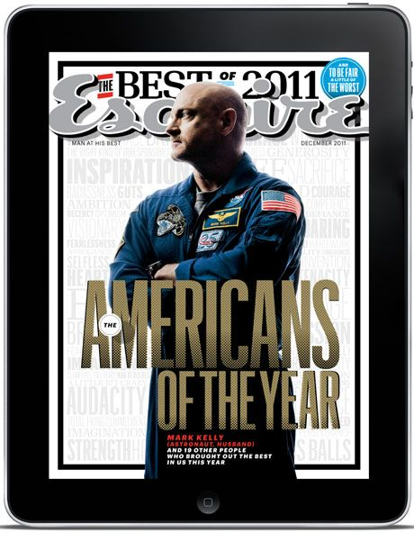 Esquire iPad December 2011 - Americans of the Year iPad