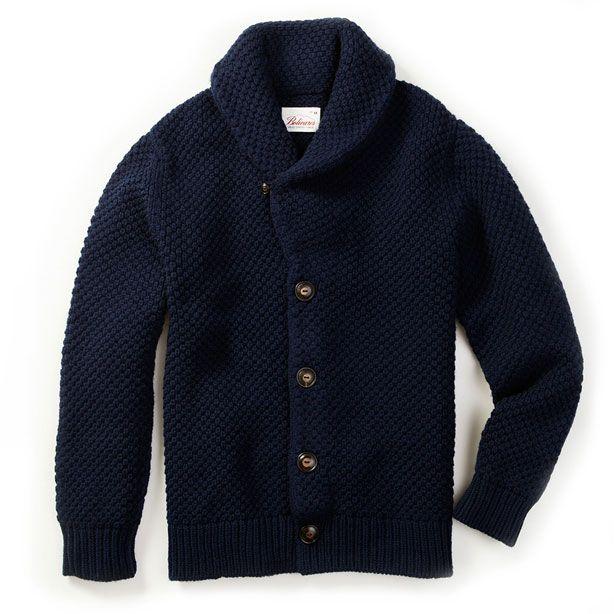 Bolivares Lucas Shawl-Collar Cardigan - Best Sweaters for Men