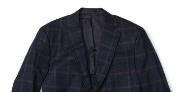 Clothing, Blue, Product, Coat, Sleeve, Textile, Pattern, Outerwear, White, Jacket,