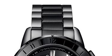 steel intelligent quartz fly-back chronograph by timex