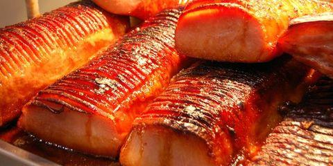 Food, Red, Ingredient, Seafood, Amber, Fish, Flesh, Cooking, Close-up, Fish,