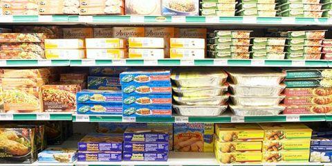 Food, Retail, Convenience store, Supermarket, Grocery store, Shelf, Convenience food, Food storage, Trade, Shelving,