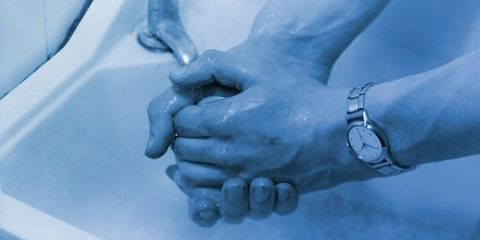 Finger, Wrist, Gesture, Nail, Thumb, Holding hands, Bracelet, Plumbing, Watch, Flesh,