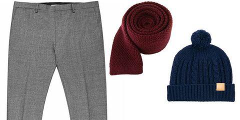 Clothing, Textile, Wool, Headgear, Pattern, Pocket, Woolen, Fashion, Denim, Costume accessory,