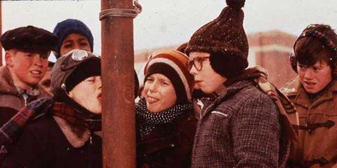 Nose, People, Social group, Winter, Headgear, Pattern, Bonnet, Beanie, Knit cap, Costume hat,