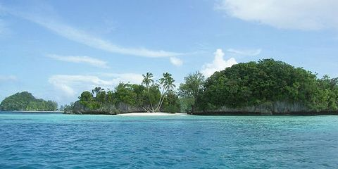Body of water, Vegetation, Nature, Coastal and oceanic landforms, Cloud, Water resources, Natural landscape, Ocean, Aqua, Island,