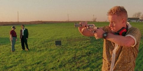 Shooting, Plain, Grassland, People in nature, Field, Farm, Ammunition, Agriculture, Pasture, Shooting sport,