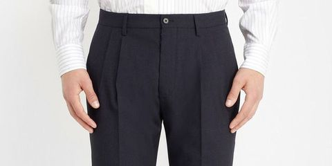 Clothing, Finger, Sleeve, Collar, Trousers, Pocket, Textile, Hand, Joint, Suit trousers,