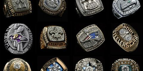 The 10 Best Super Bowl Rings