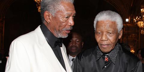 Nelson Mandela Morgan Freeman