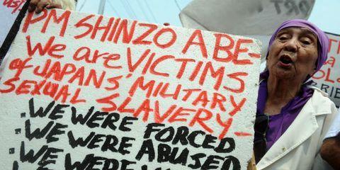 Japanese Comfort Women Protest