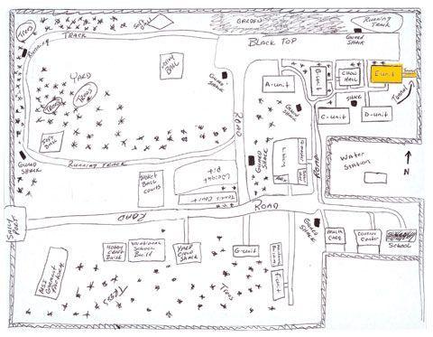 map of kinross prison escape plan