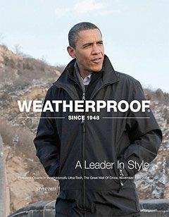 a1733c06e weatherproof obama jacket on times square billboard