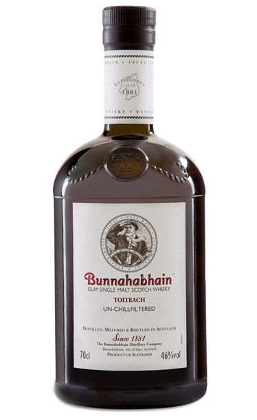 Bunnahabhain Toiteach single-malt Scotch whisky