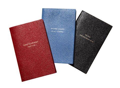 Smythson notebooks