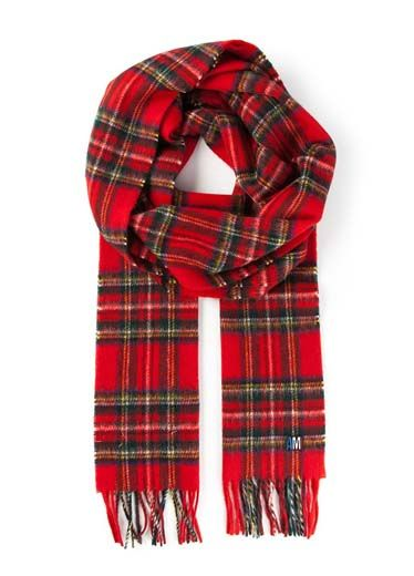 Plaid, Tartan, Product, Brown, Sleeve, Pattern, Red, Textile, Collar, White,