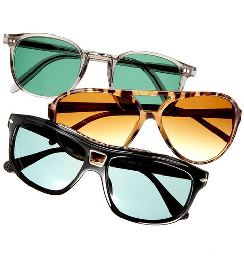 Eyewear, Glasses, Goggles, Vision care, Blue, Product, Brown, Green, Personal protective equipment, Glass,