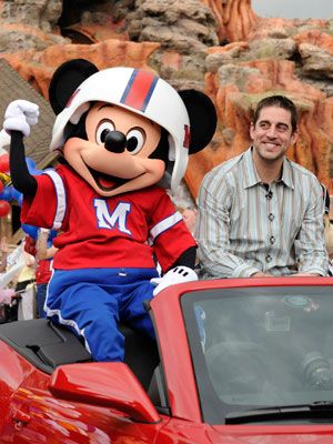 aaron rodgers mickey mouse