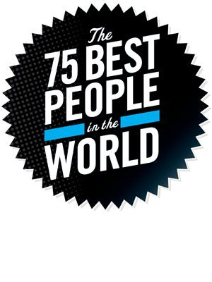 esquire 75 best people in the world