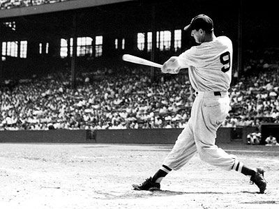 Ted Williams, Left Field