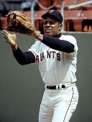 Willie Mays, Center Field