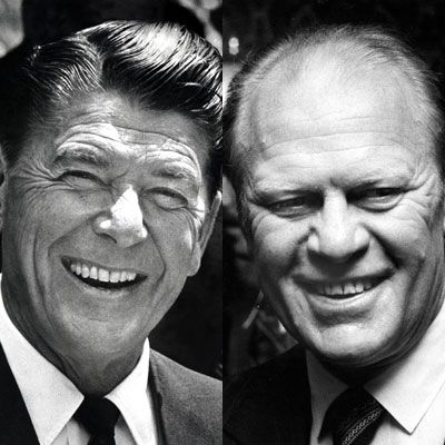 ronald reagan and gerald ford