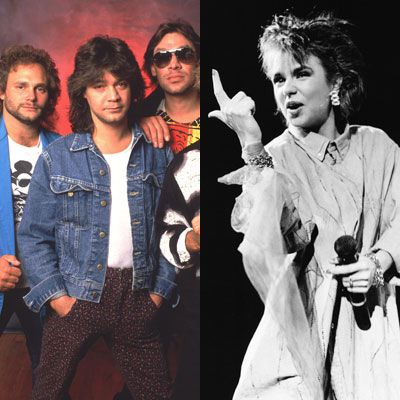 Van Halen and Patty Smyth
