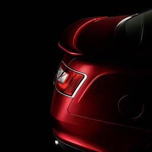 rear of ford taurus sho