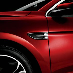 side of ford taurus sho