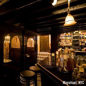 inside of mayahuel in nyc