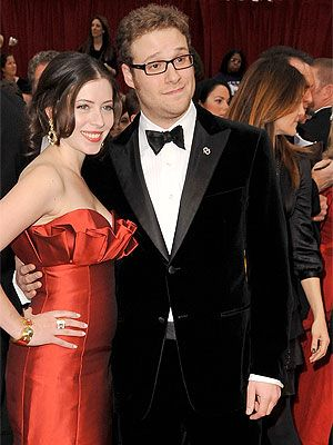 seth rogen red carpet oscars 2009