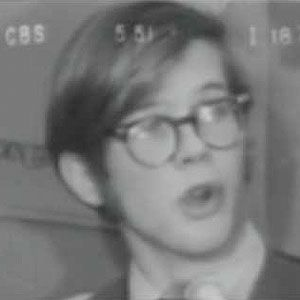 young karl rove interviewed by dan rather about college republicans