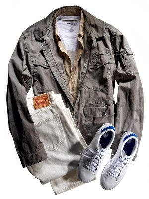 cotton utility jacket outfit