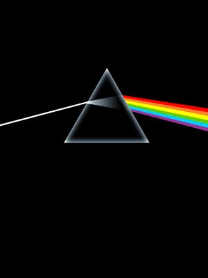 album cover for dark side of the moon by pink floyd