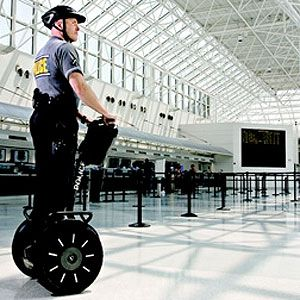 cop on segway